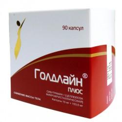 Голдлайн Плюс, капс. 15 мг+153.5 мг №90