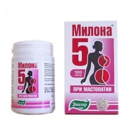 Милона-5, табл. 0.5 г №100 при мастопатии